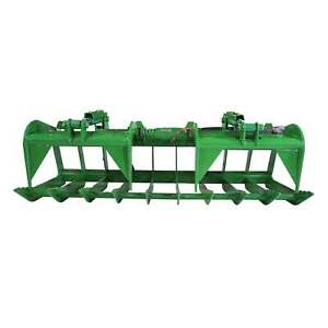Titan 84 Root Grapple Bucket Attachment Fits Global Euro John Deere Loaders