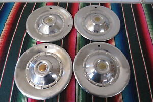 Vintage 1950 S 1960 S Chrysler Dodge Plymouth Hubcaps Wheel Covers Hub Caps 15