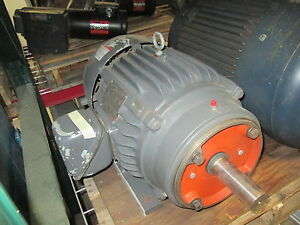 Emerson Ac Motor H379 20hp 1770rpm Fr 256tc Encl te 575v 19 4a Used