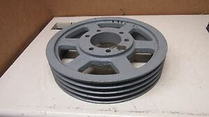 Tb Woods 5v14 0 4 E Steel 4 Groove V Belt Pulley Sheave 14 Od 3 3 4 Bore
