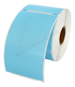 50 Rolls Of 300 Blue Shipping Labels For Dymo Labelwriters 30256