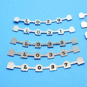 40 Pcs Dental Lingual Retainers For Mandibular 29 31 33 35 37 Orthodontics