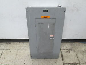 Peterson Electric Main Breaker Circuit Breaker Panel Cdp7a 90a Max 3ph 4w Used