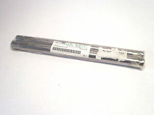New Lot Of 2 Misumi Sfu25 375 m8 sc5 Precision Linear Shafts One End Tapped Wf