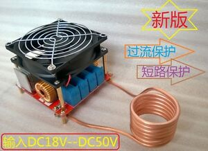 Dc18 50v Zvs Induction Heating Board Flyback Driver Heater Cooker Ignition Coil