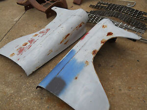 1953 Chevrolet Passenger Car Front Fenders Chevy Hot Street Rat Rod Custom Solid