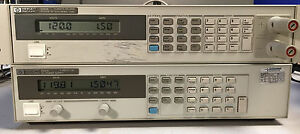 Hp 6545a Variable Dc Power Supply 0 120v 0 1 5a 200w Tested At Full Load