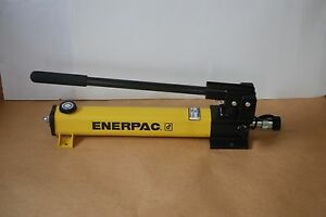 Enerpac P 391 Hydraulic Hand Pump 10 000psi W Cr400 Coupling Usa Made New