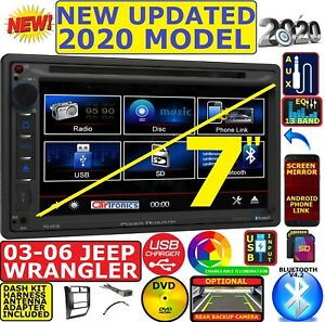 03 04 05 06 Jeep Wrangler Tj Bluetooth Cd Dvd Sd Aux Car Radio Stereo Pkg