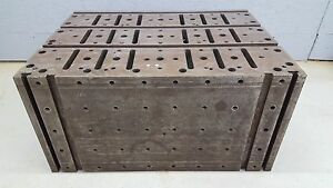 T slot Workholding Tombstone Riser Block Fixture Table Angle Block 36 x26 x18