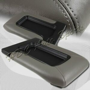 For 1999 2006 Chevy Silverado Grey Leather Center Console Box Arm Rest Latch