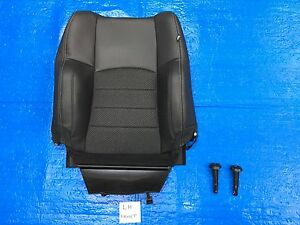 2016 2017 Dodge Ram Sport Left Front Seat Cover Backrest Cloth Vinyl Black