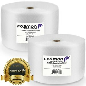 Bubble Wrap Roll Total 350ft 2x175 Or 5x70 Perforated 12 Shipping Mailing