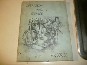 Waukesha Vr Series Gas And Diesel Engines Operation And Service Manual Look