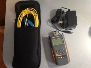Precision Rated Optics Pm 102b Optical Power Meter Fiber Testing St Sc Fc