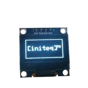 0 96 Oled Lcd Display I2c Iic 128x64 Arduino Esp32 Esp8266 Screen White Ssd1306