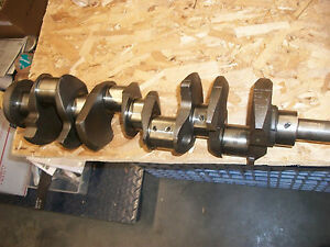 Engine Crankshaft Ford 302 2m Casting Turned Ready To Go