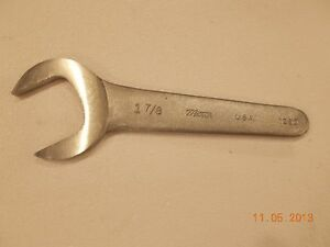 Caterpillar 1u9097 Open End Shorty Wrench Service Tool new