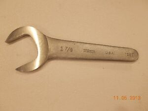 Caterpillar Oem 1u9097 Open End Shorty Wrench Service Tool new