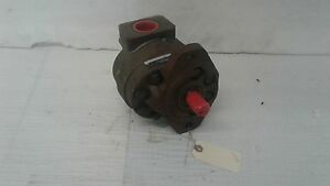 Concentric haldex Cast Iron Hydraulic Gear Pump 3 33 Cu In