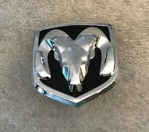 Dodge Caliber Rams Head Emblem Badge For Rear Liftgate Handle Oem New Mopar