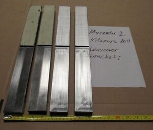 4 Pcs Way Cover Brackets From Kitamura Mycenter 2 Cnc Milling Vmc