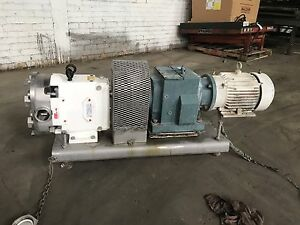 Ampco Positive Displacement Pump Stainless Steel waukesha 2 1 2 rbzp1 60 so