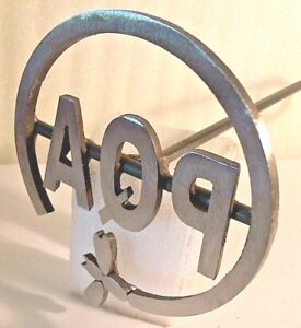 custom Branding Iron Wedding Western bbq 3 Letters In 5 Circle wood bees