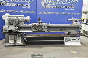 18 X 78 Used Monarch Heavy Duty Engine Lathe Mdl 16cy a3073