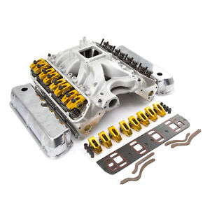 Ford 351w Windsor Hyd Roller Cnc Cylinder Head Top End Engine Combo Kit