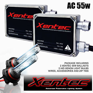 Xentec Hid Xenon 55w 2 Bulbs 2 Ballasts Kit Dodge Ram Pickup 2500 3500 All Color