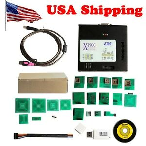 From Usa Newest X prog Box Ecu Programmer Xprog m V5 60 With Usb Dongle