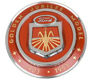 Naa Golden Jubilee Ford Tractor Hood Emblem