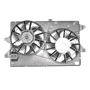 Tyc Dual Radiator And Condenser Fan Assembly 1995 2000 Ford Contour 2 5l V Uj