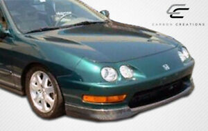 Carbon Creations Type R Front Lip Under Spoiler Air Dam 1 Piece For Integra
