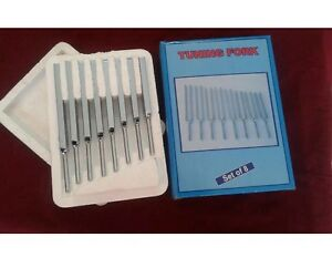 Tuning Fork Set Of 8 Physics Sound Frequency