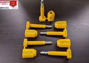 Bolt Style Industrial Tamper Seal Tags Truck Trailer Cargo Container C tpat Hd