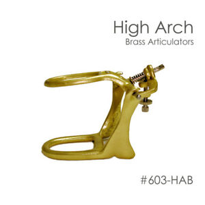 Dental Articulator Brass Denture High Arch Box Of 6