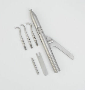 Dental Automatic Crown Remover Gun Orthodontic Instrument Stainless Steel