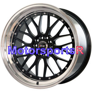 Xxr 521 20 Black Machine Deep Lip Staggered Rims Wheels 5x120 00 15 Camaro Ls Lt