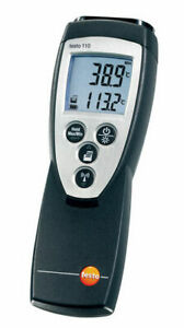 Testo 110 0560 1108 Ntc Thermometer For Use In Low Temperature Environments