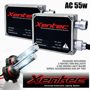 Xentec Hid Xenon 55w 2 Bulbs 2 Ballasts Kit Ford F150 Headlight Fog Light 6k 8k