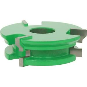 C2121 Grizzly Shaper Cutter 1 2 v Paneling Cutter Set 3 4 Bore
