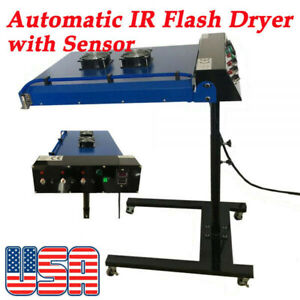 Usa Stock 6000w 220v 20 X 24 Automatic Ir Flash Dryer With Sensor 50hz Screen