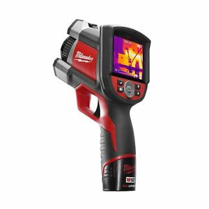 2260 21 Milwaukee M12 160 X 120 Thermal Imager Kit