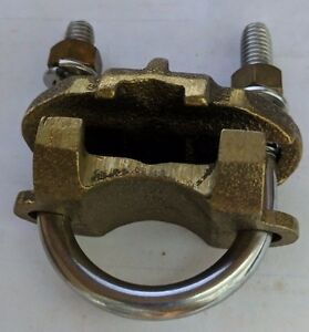 Burndy Gar1626 1 1 4 Wire To Fence Post Ground Clamp High Copper Alloy
