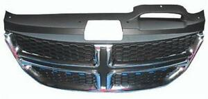Cpp Textured Black Grille Ch1200362 For 2011 2018 Dodge Journey