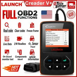 Launch Creader V Code Reader Engine Check Diagnostic Tool Automotive Scanner