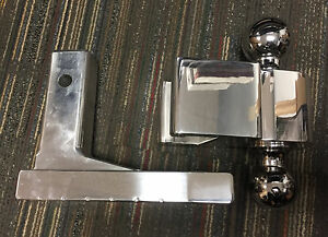 Fastway Dt Stbm6600 Adjustable Trailer Hitch Ball Mount W 6 Drop 7 Rise