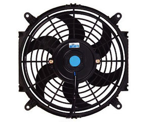 10 Inch Electric Automotive Radiator Cooling 12v Fan Slim Curved Blade
